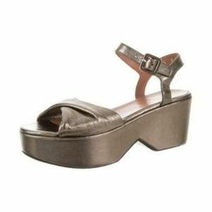 Robert Clergerie Platform Open Toe Sandal Sz 9.5